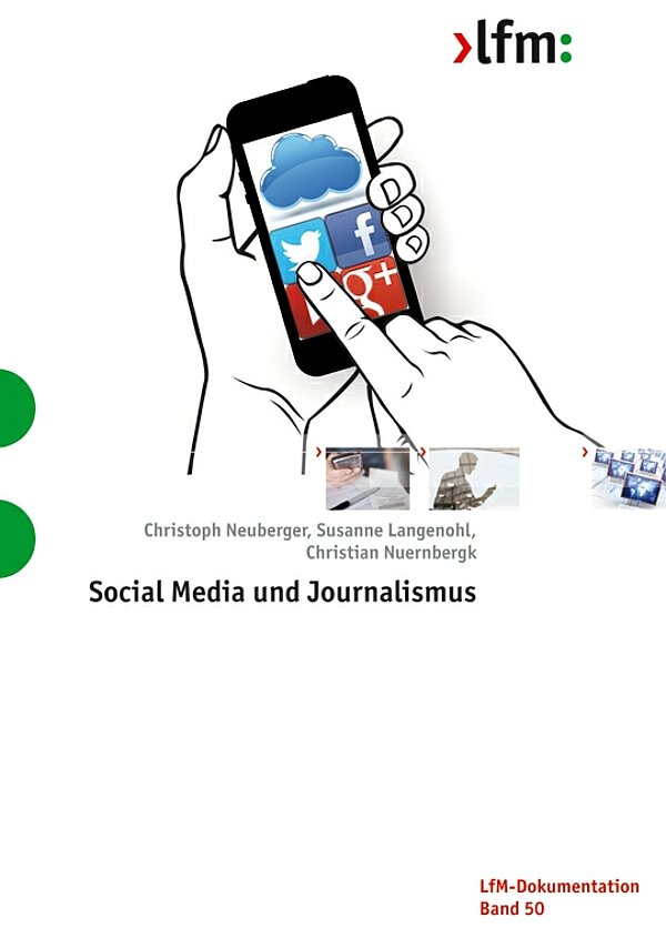 "Cover ""Social Media und Journalismus"""
