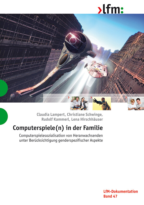 "Cover ""Computerspiele(n) in der Familie"""
