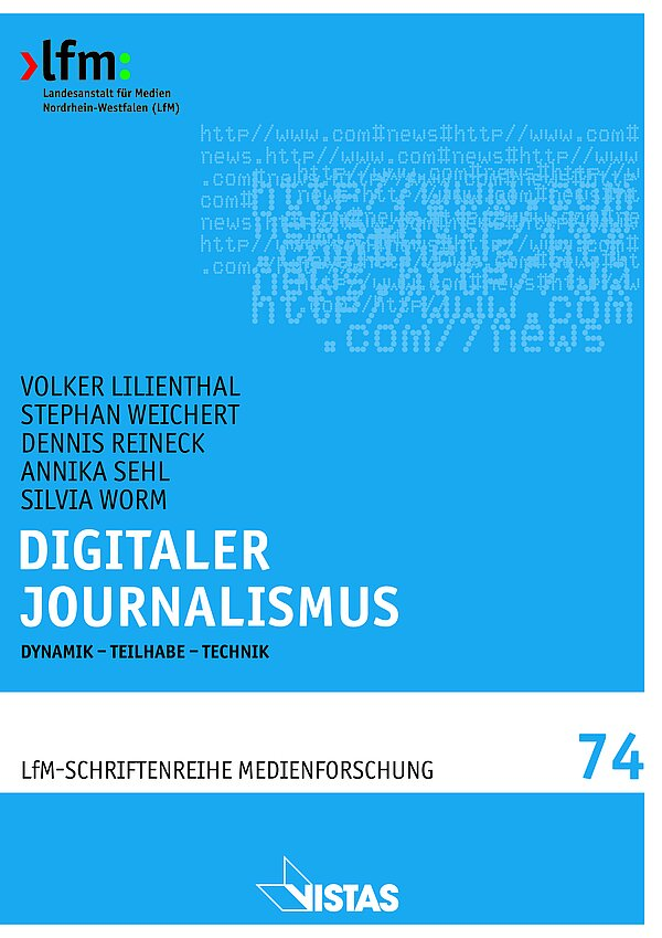 "Cover ""Digitaler Journalismus"""